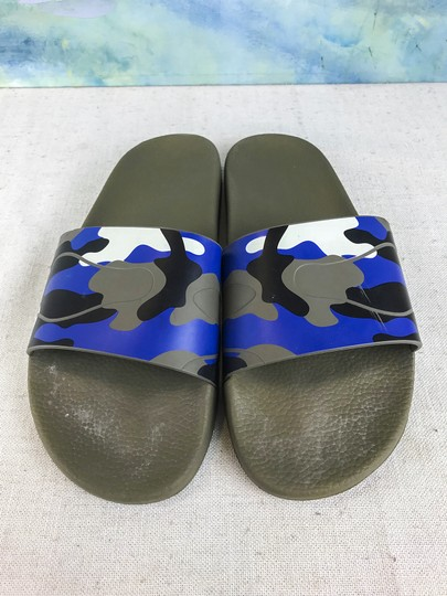 Valentino Camouflage Blue Sandals Image 2