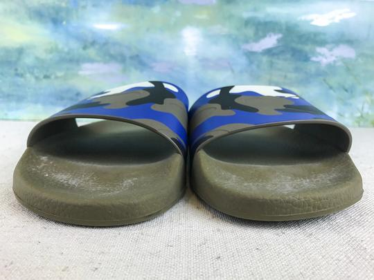 Valentino Camouflage Blue Sandals Image 4