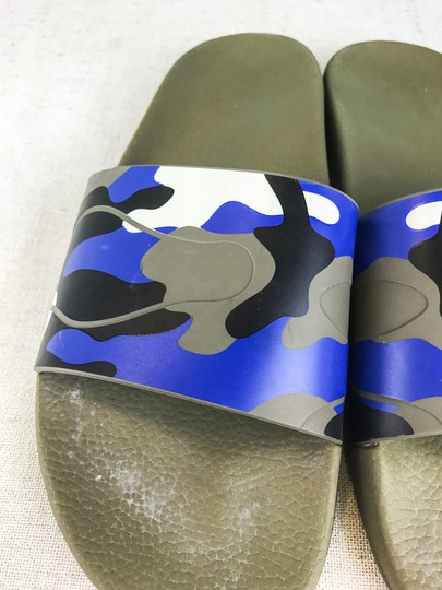 Valentino Camouflage Blue Sandals Image 5