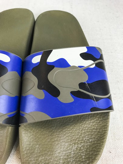Valentino Camouflage Blue Sandals Image 6