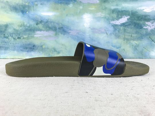 Valentino Camouflage Blue Sandals Image 7