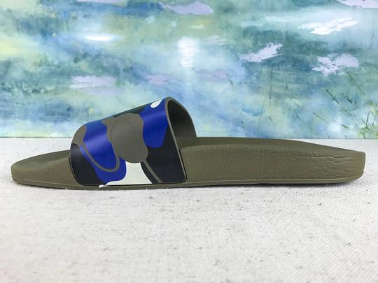 Valentino Camouflage Blue Sandals Image 8