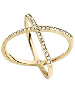 Michael Kors Michael Kors Brilliance Pave X Ring