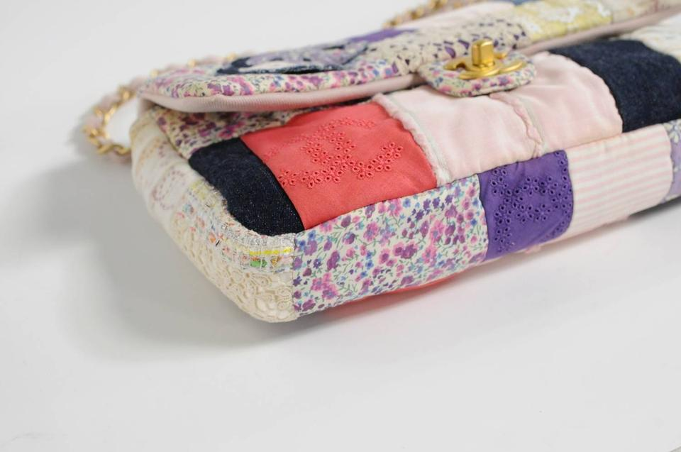 a159f0e929ae Chanel Handmade Couture Limited Edition Patchwork 2006 Pink Fabric ...