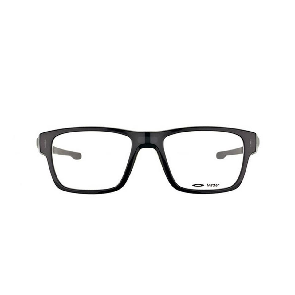 b98009b82da5 Oakley OX8077-04-54 Splinter Men s Black Frame Clear Lens Genuine Eyeglasses  Image 0 ...