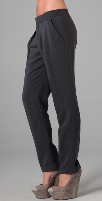 Theyskens' Theory Trouser Pants Washed Navy Image 1