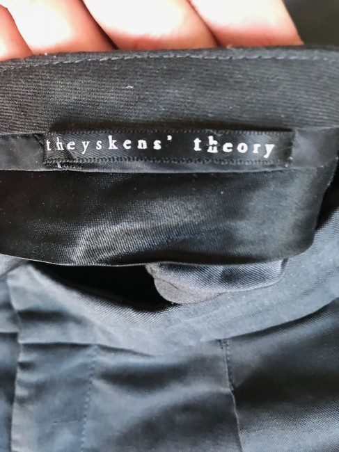 Theyskens' Theory Trouser Pants Washed Navy Image 4