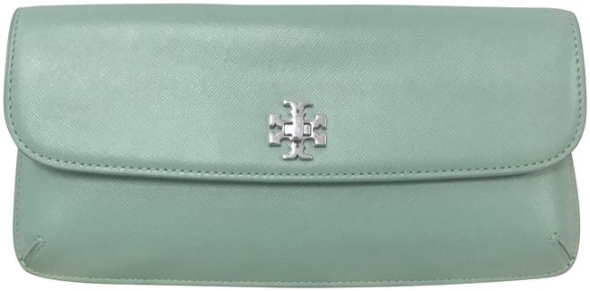 Tory Burch Diana Turnlock Northern Lights Leather Clutch Tory Burch Diana Turnlock Northern Lights Leather Clutch Image 1