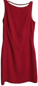 CDC Caren Desiree Company short dress Coral /red on Tradesy