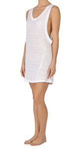 MIKOH short dress white Beach Cover Up Swim Cover Up Linen on Tradesy