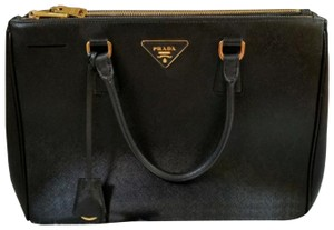 Prada Tote in Black.