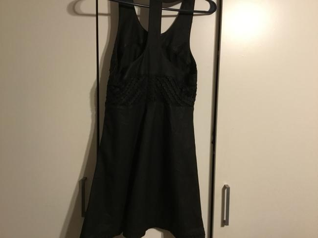 Free People short dress Leather/black on Tradesy Image 1