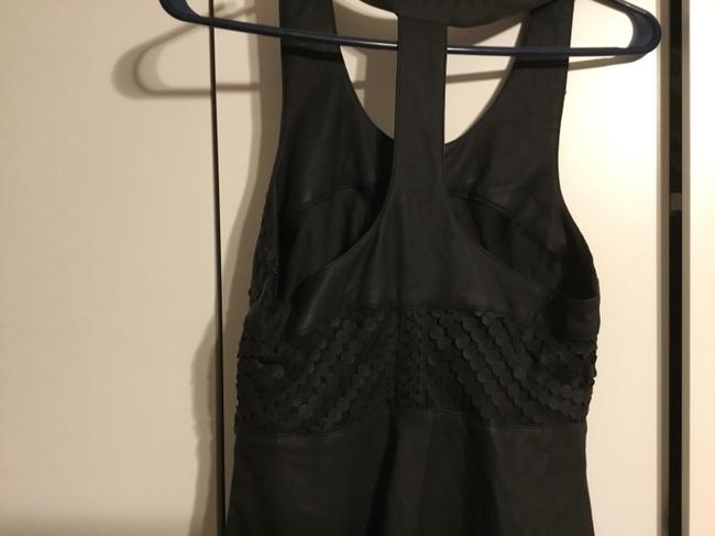 Free People short dress Leather/black on Tradesy Image 3