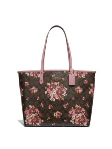 Coach Satchel Reversible Tote in Multi