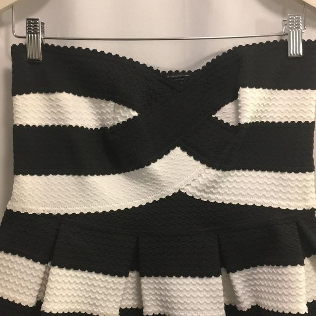 Other short dress Black and White on Tradesy Image 2