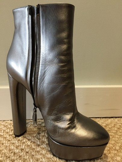 Casadei Silver Boots Image 11
