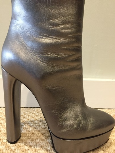 Casadei Silver Boots Image 6