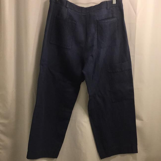 Burberry Relaxed Pants Blue Image 1