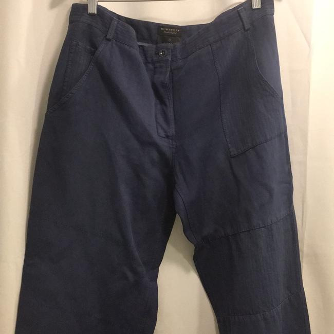 Burberry Relaxed Pants Blue Image 4
