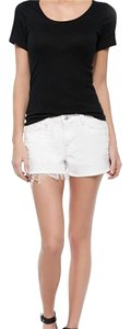 J Brand Cut Off Shorts White Light