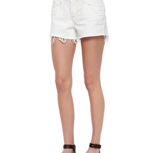 J Brand Cut Off Shorts White Light Image 3