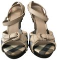 Burberry London beige, brown, multi Mules
