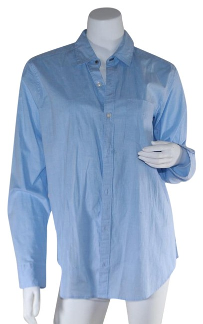 Preload https://img-static.tradesy.com/item/24045134/abercrombie-and-fitch-blue-women-s-button-up-long-sleeve-shirt-light-s-button-down-top-size-4-s-0-1-650-650.jpg