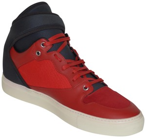 Balenciaga Sneakers Hitop Red / Black Athletic