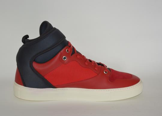 Balenciaga Sneakers Hitop Red / Black Athletic Image 1
