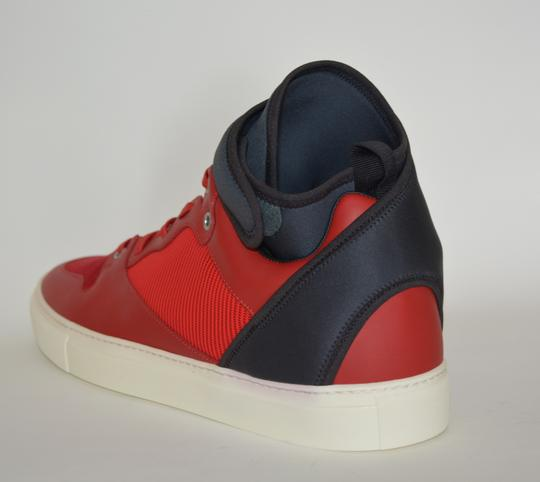 Balenciaga Sneakers Hitop Red / Black Athletic Image 2