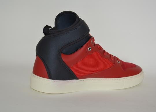 Balenciaga Sneakers Hitop Red / Black Athletic Image 3