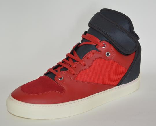 Balenciaga Sneakers Hitop Red / Black Athletic Image 4