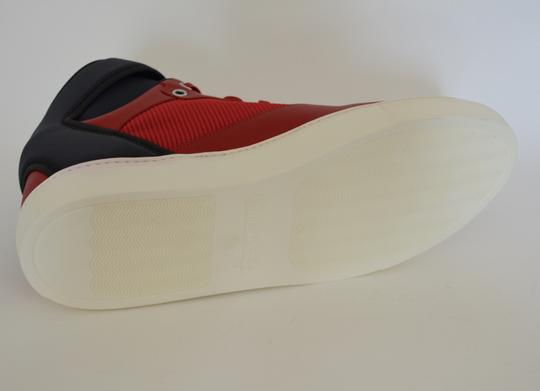 Balenciaga Sneakers Hitop Red / Black Athletic Image 5