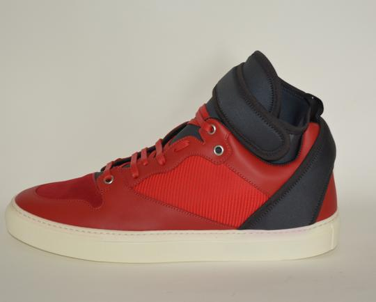 Balenciaga Sneakers Hitop Red / Black Athletic Image 6