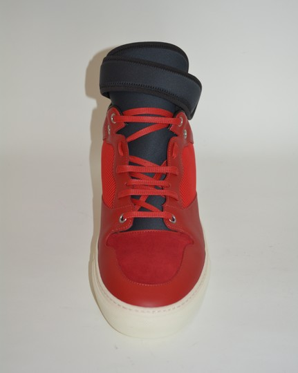 Balenciaga Sneakers Hitop Red / Black Athletic Image 8