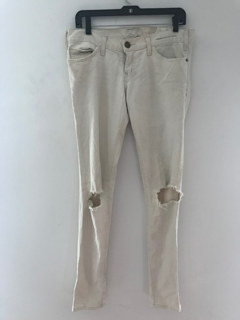 Current/Elliott Skinny Jeans-Light Wash Image 10