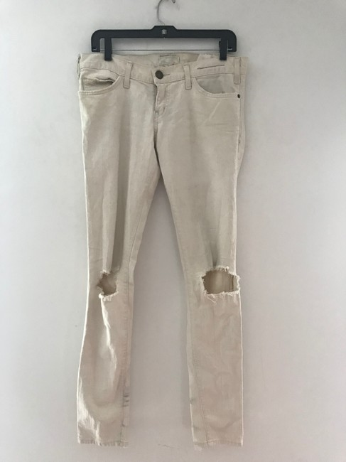 Current/Elliott Skinny Jeans-Light Wash Image 11