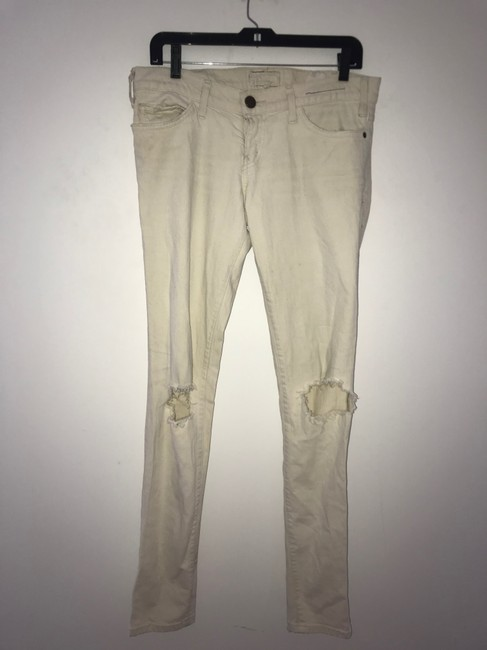 Current/Elliott Skinny Jeans-Light Wash Image 7