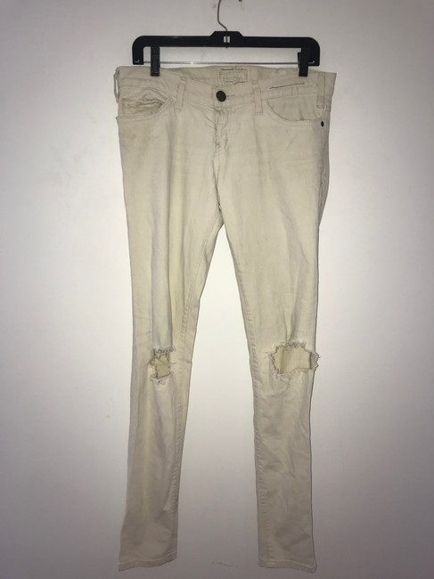 Current/Elliott Skinny Jeans-Light Wash Image 8