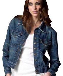 Current/Elliott Denim Womens Jean Jacket
