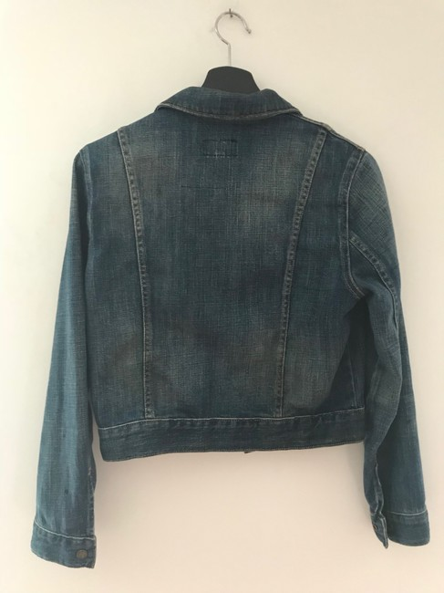 Current/Elliott Denim Womens Jean Jacket Image 11