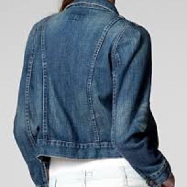 Current/Elliott Denim Womens Jean Jacket Image 2