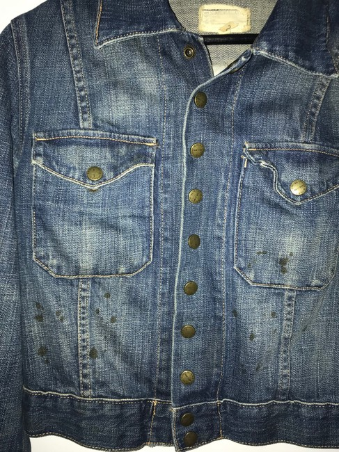 Current/Elliott Denim Womens Jean Jacket Image 4