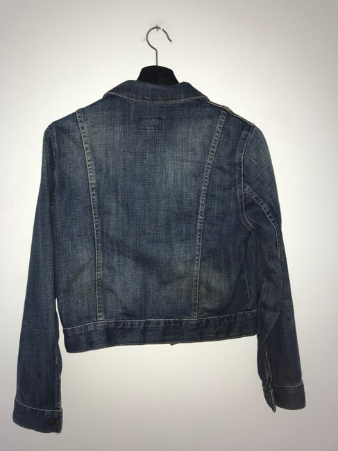 Current/Elliott Denim Womens Jean Jacket Image 6