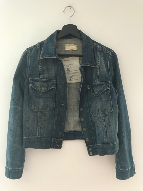 Current/Elliott Denim Womens Jean Jacket Image 7