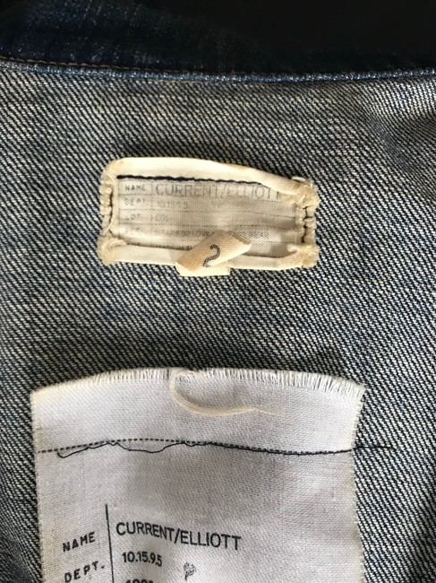 Current/Elliott Denim Womens Jean Jacket Image 9