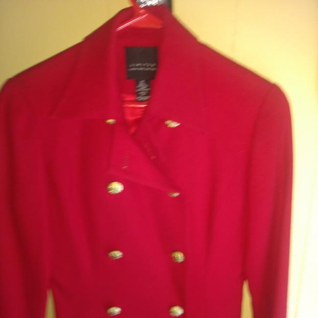 The Limited Red Blazer Image 2