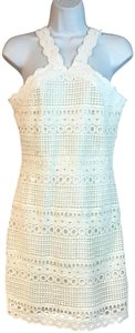 Karen Millen short dress White on Tradesy