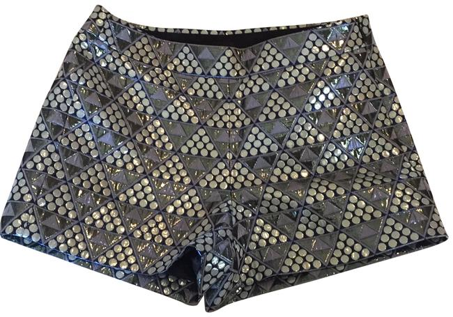 Preload https://img-static.tradesy.com/item/24045526/blue-multi-metallic-pyramid-brocade-a2536-dress-shorts-size-0-xs-25-0-1-650-650.jpg