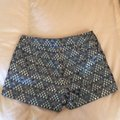 J.Crew Collection Dress Shorts Blue multi metallic Image 1